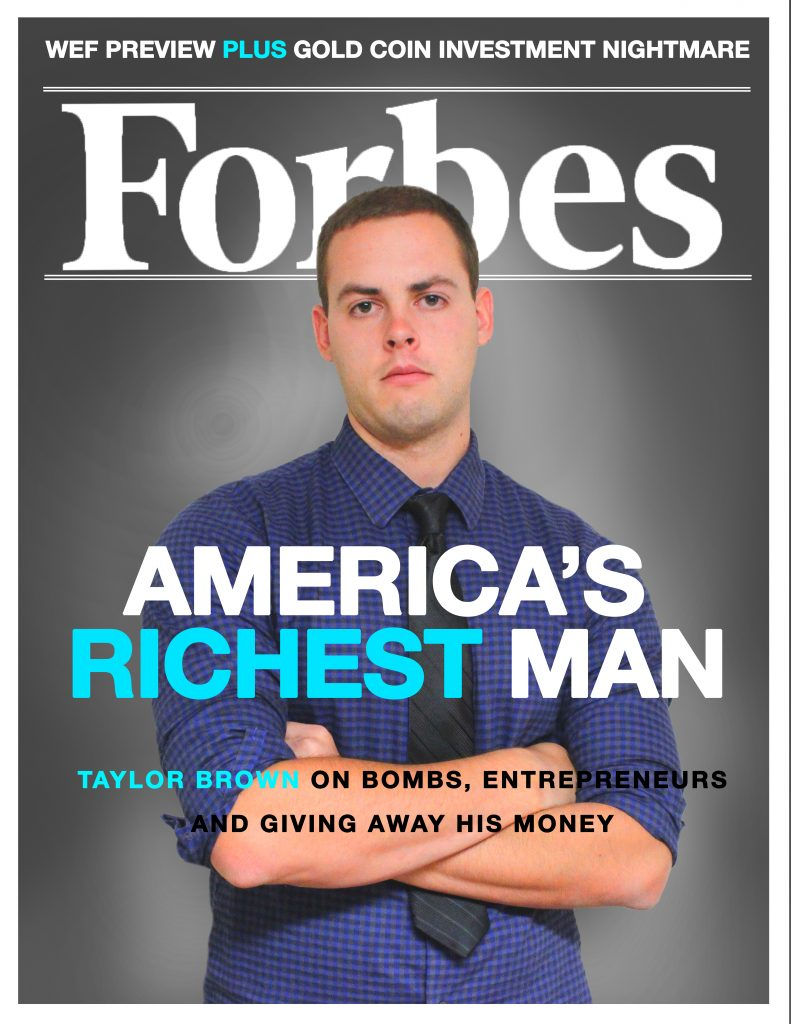 Personalized Time Amp Forbes Magazine Front Covers Taylor